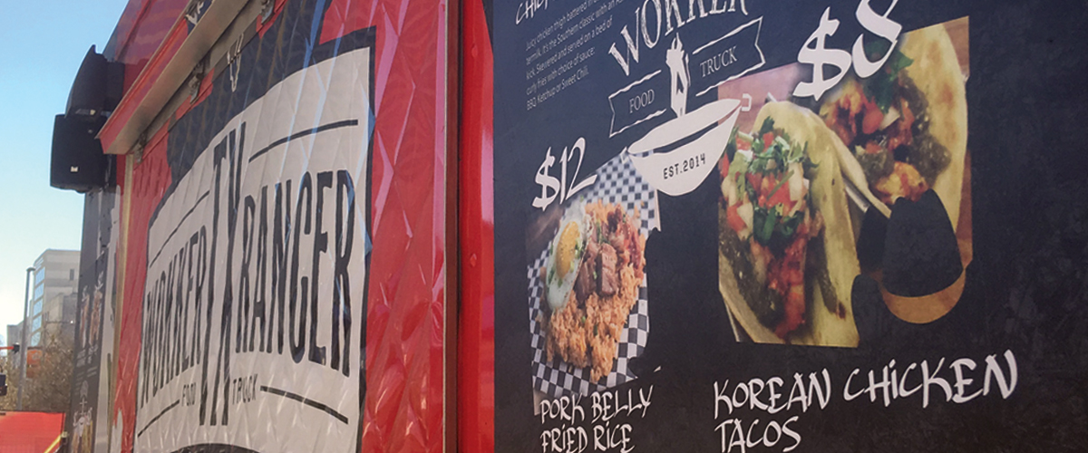 Wokker Food Truck Menu Rekord